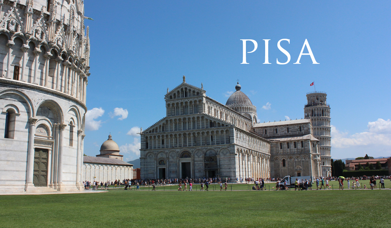 Tuesday, August 13 – Day 6 – Pisa and Florence